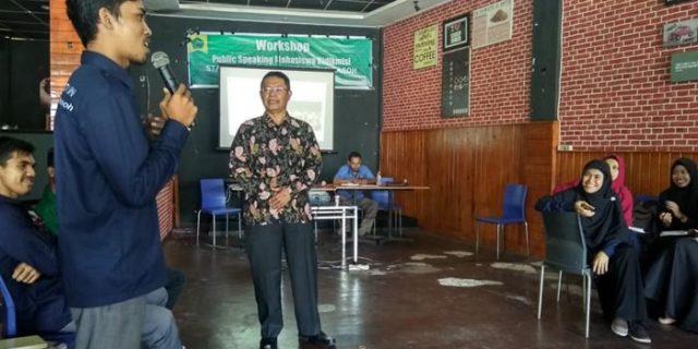 Mahasiswa Bidikmis STAIN Dibekali Publik Speaking