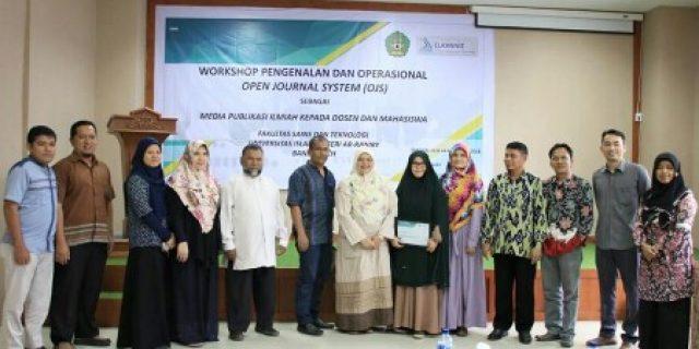 Fakultas Saintek UIN Gelar Workshop OJS