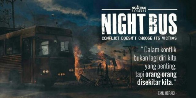 'Night Bus' Luka Kala Perang