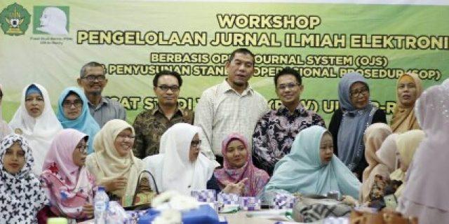 PSW UIN Ar-Raniry Gelar Workshop Pengelolaan OJS