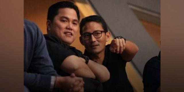 "Sandiaga Uno, Erick Thohir dan ""Making Indonesia 4.0"""