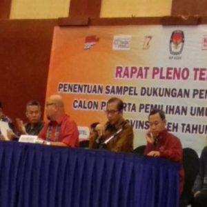 Rapat Pleno KIP 1