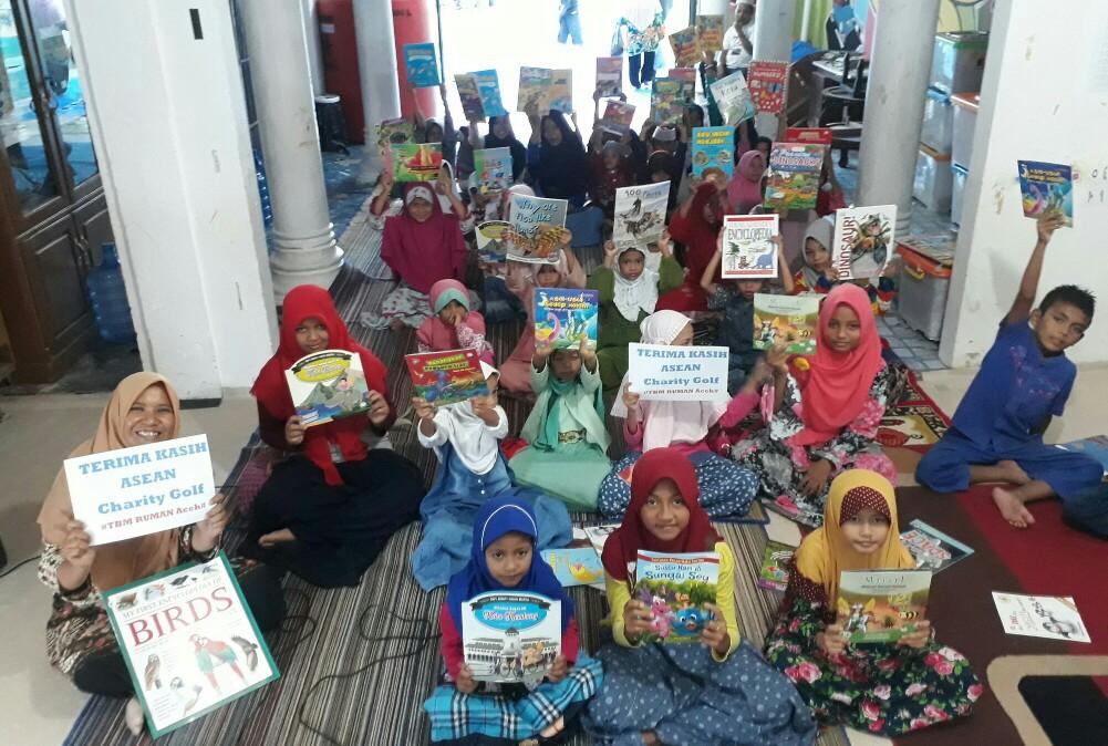 2. Ucapan terima kasih anak anak di TBM RUMAN Aceh 2 1