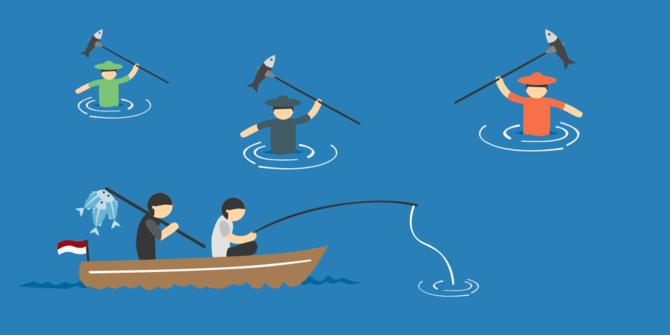 2 nelayan sultra sudah 4 hari hilang di perbatasan indonesia png