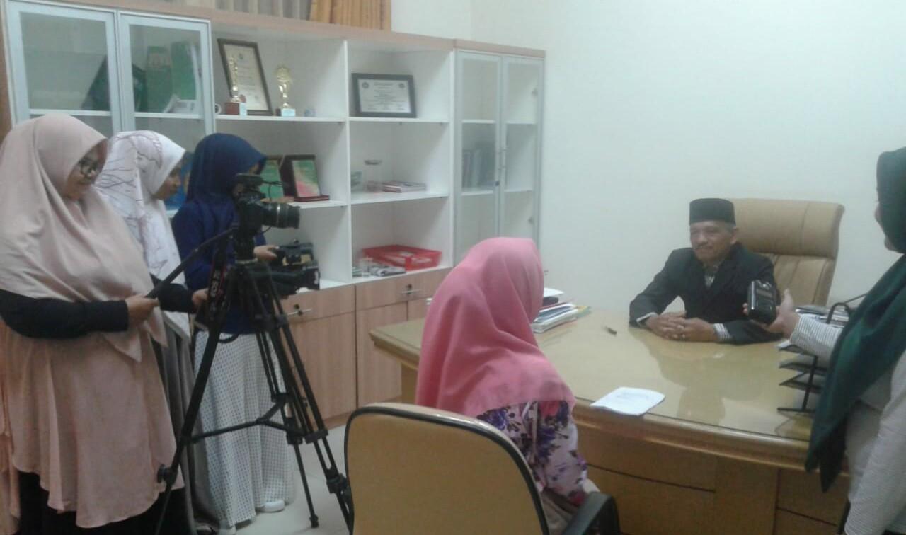Pengambilan data pembuatan video profil D3 IP. Proses produksi dilakukan oleh mahasiswa yg didampingi sineas muda Aceh RA Karamullah 1