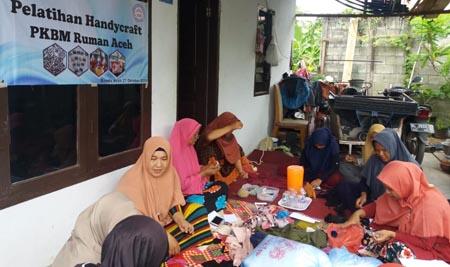 2. Suasana pelatihan yang diadakan PKBM RUMAN Aceh 2