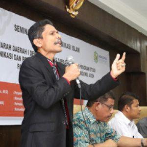 Askopis seminar Komunikasi Islam UINAR NAT Riwat