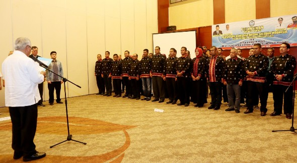Ketum PB PODSI saat melantin Pengurus Pengprov PODSI Aceh 1476x808