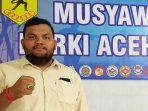 Ketua Umum terpilih Irfansyah