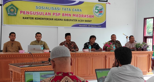 Realisasi PSP BMN Kemenag Aceh Masih Rendah