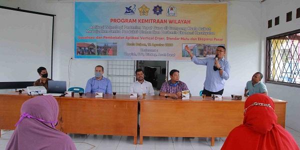 Unsyiah-UTU Kolaborasi Tingkatkan Mutu Olahan Hasil Laut Kuala Bubon