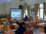 Diklat Pengelolaan Perpustakaan Sekolah Bagi Guru Pendidikan Agama Islam PAI Se Kota Banda Aceh Tahun 2020 dilakukan secara tatap muka dengan memperhatikan protokol kes