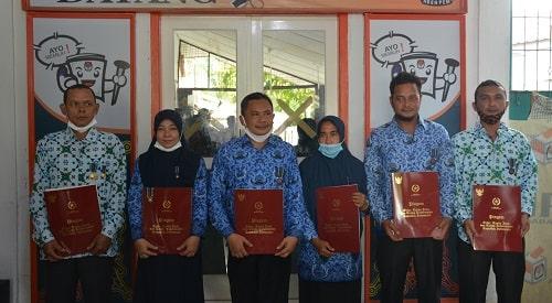 Enam ASN KIP Aceh Barat Terima Penghargaan Presiden