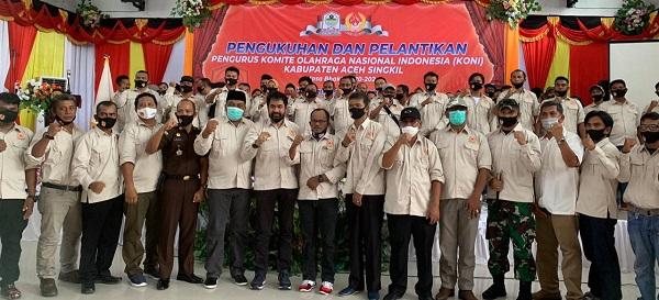 Mualem Harap Aceh Singkil Perbaiki Prestasi pada PORA Pidie