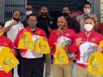 KONI Aceh Serahkan Bantuan Prokes Covid-19