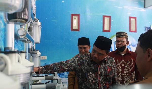 Kemenag Aceh Barat Buka Usaha Air Isi Ulang