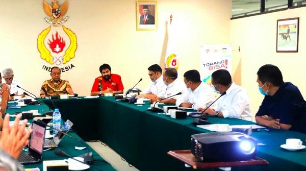 KONI Pusat Janji Surati Menpora Terkait SK Tuan Rumah PON Aceh-Sumut