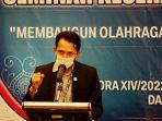 Pelatih Pelatda Aceh Dibekali Materi Kesehatan Olahraga