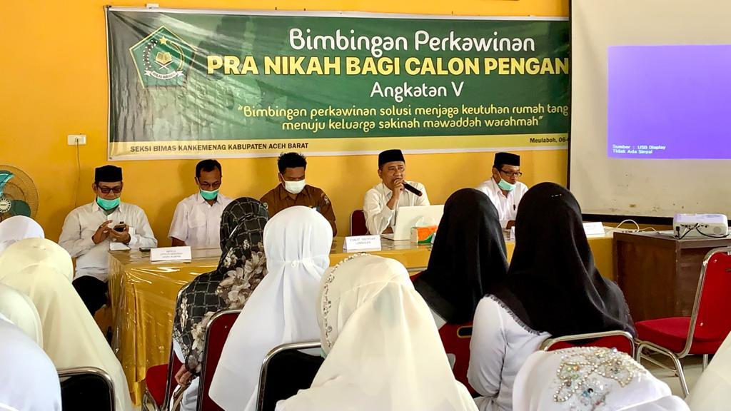 Upaya Kemenag Aceh Barat Wujudkan Masyarakat Moderat Lewat Bimbingan Pranikah