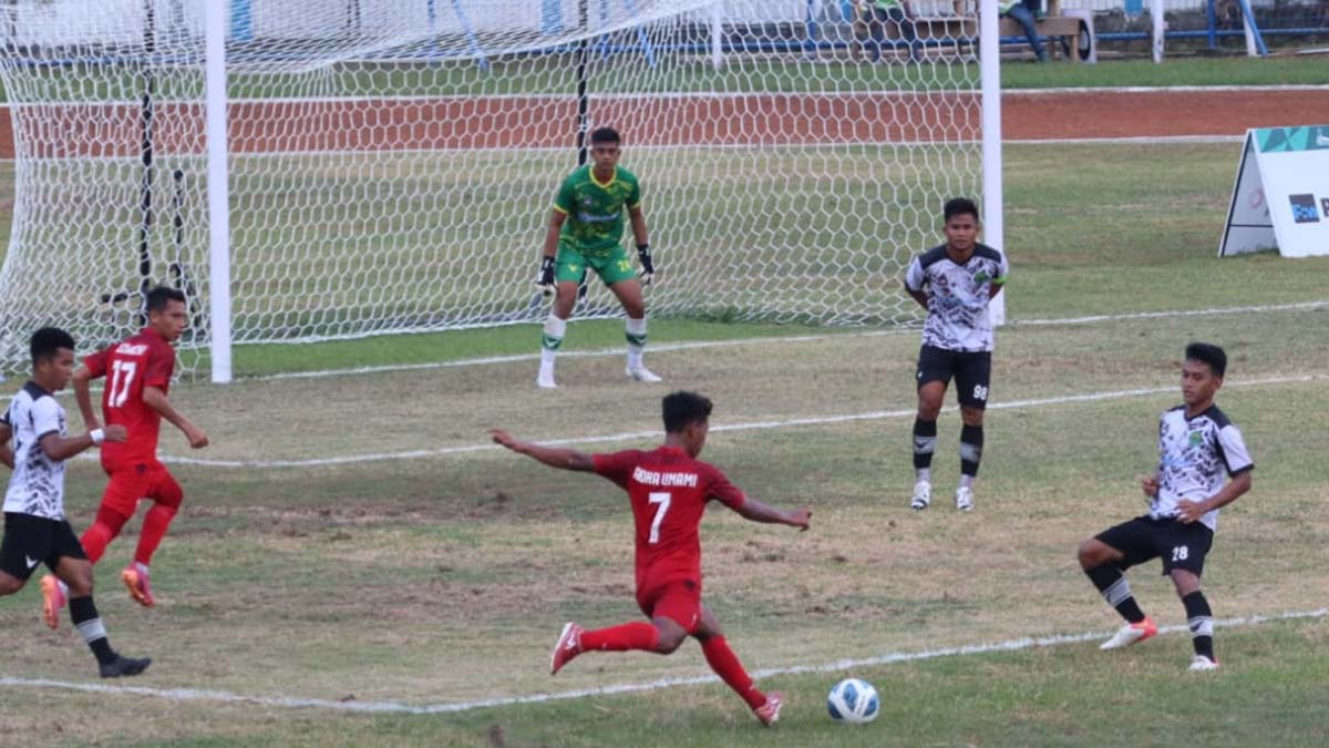 Kandaskan Kaltim Sepakbola Aceh Melaju Babak Enam Besar