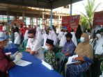 Santri Nurul Falah Meulaboh Ikut Vaksinasi